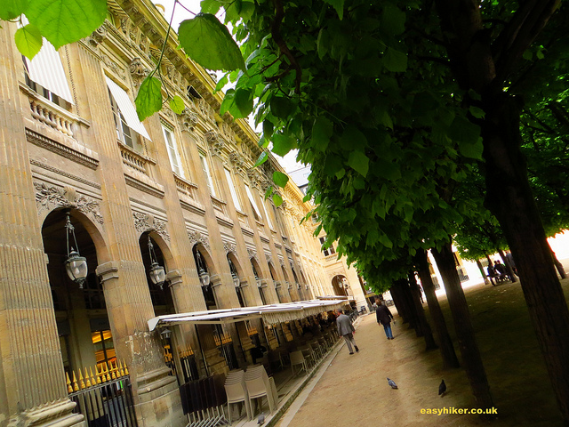 """Galerie Montpensier near the Palais Royal along one of the themed walks in Paris"""