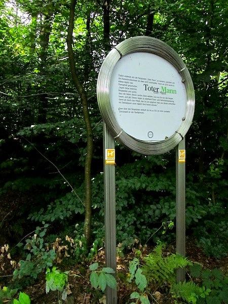 """German hiking trails - Drahthandelsweg"""