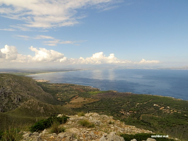 """highlight of the Ermita de Betlem trail on hiking in Mallorca"""