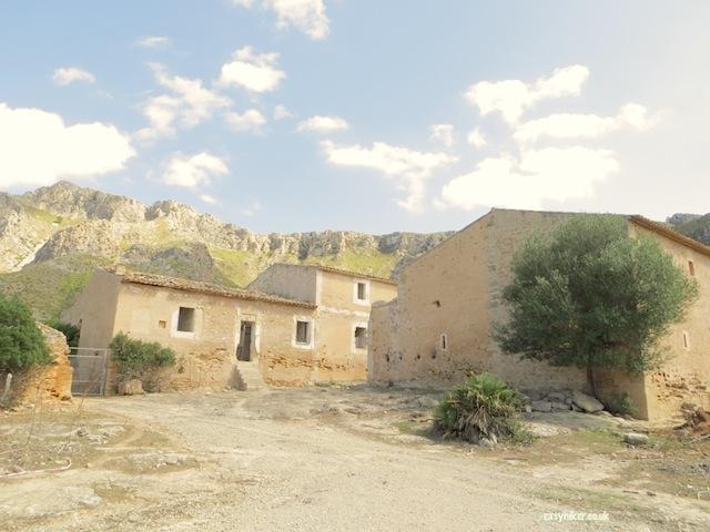 """Abandoned town along Ermita de Betlem seen when hiking in Mallorca"""