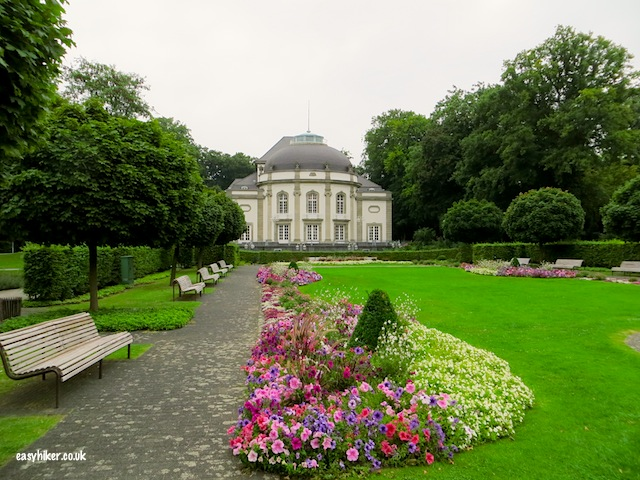 """A garden in the Kurpark in Bad Oeynhausen"""