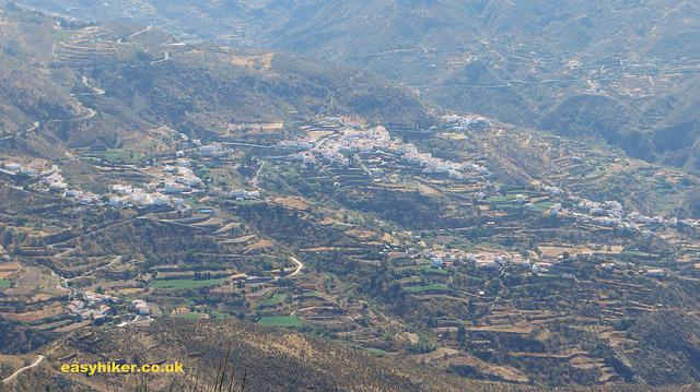 """terraces for farming in the caldera of Tejeda in Gran Canaria"""