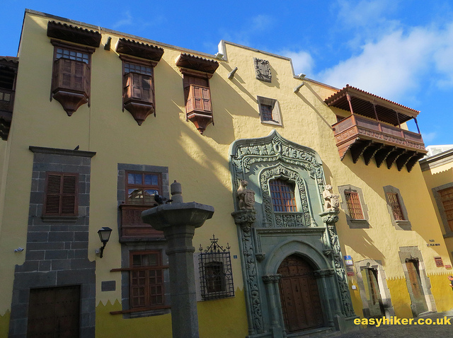 """Las Palmas - one of towns of Gran Canaria worth a visit"""