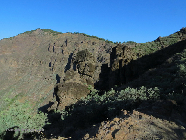"""Grand Canyon-esque landscape in little continent Gran Canaria"""