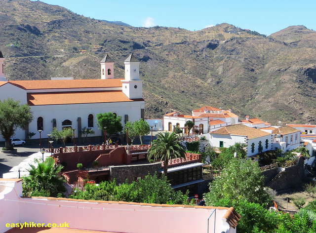 """the town of Tejeda, one of the towns of Gran Canaria worth a visit"""