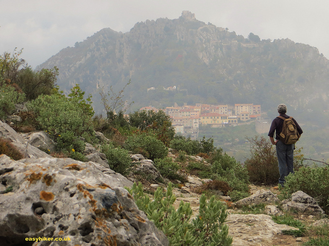 """Hiking from Gorbio to St Agnes, parts of the French Riviera hinterland"""