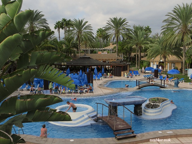 """Main pool at Dunas Suites and Villas Resort"""