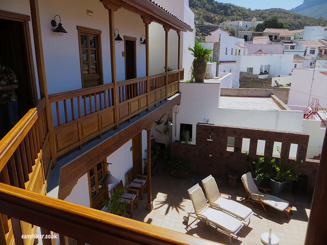 """all about Gran Canaria Natural hotels and fincas - sun terrace of Hotel Fonda de la Tea"""