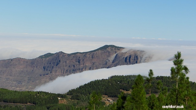 """a ""cloudfall"" in little continent Gran Canaria"""