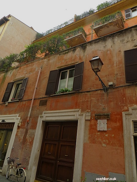 """Fellini's house in Rue Margutta in Rome"""