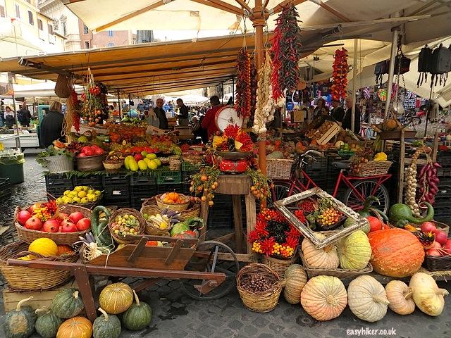 """""""A fruit stall in Campo dei Fiori in Rome"""""""
