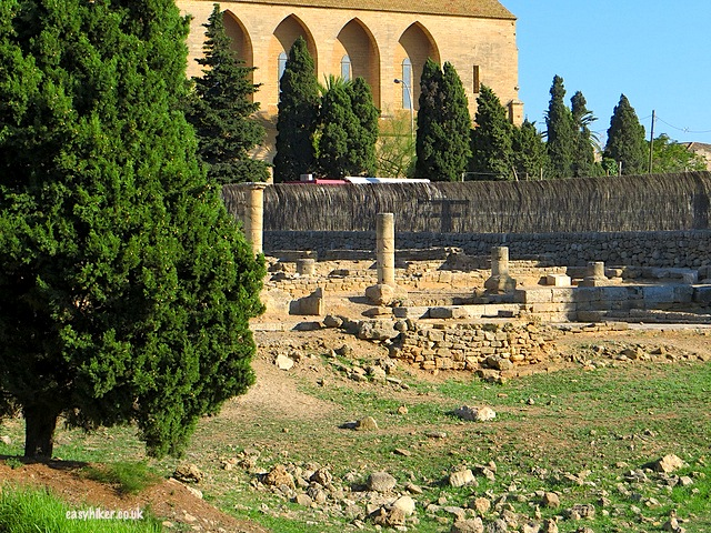 """Roman ruins we passed along the road on market day in Alcudia"""
