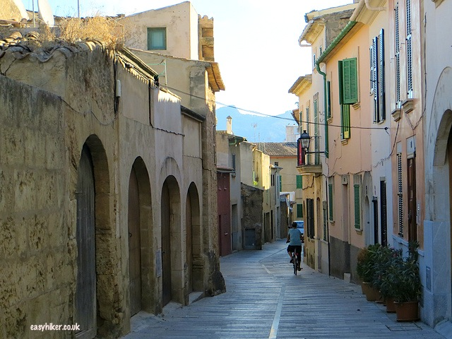 """""""a street of Alcudia - market day in Alcudia in Mallorca"""""""