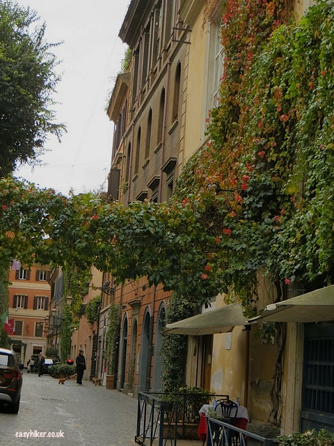 """Rue Margutta where one of the famous movies in Rome was set"""