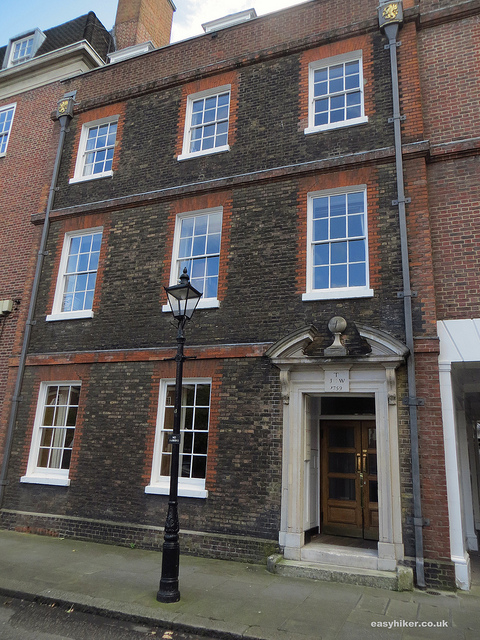 """House in Gray's Inn Square where Charles Dickens first worked as a legal clerk"""