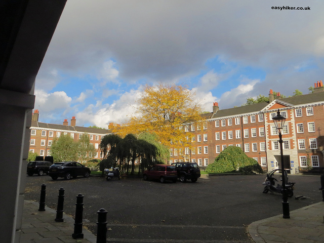 """Gray's Inn Square in Legal London"""