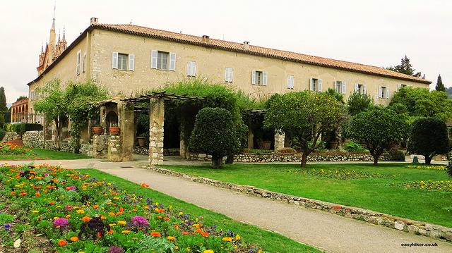 """Franciscan monastery gardens in Cimiez Nice"""
