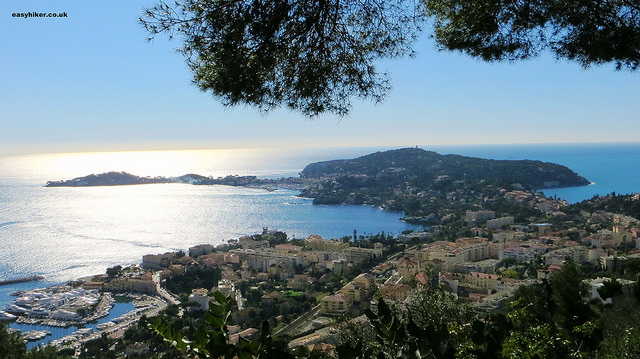 """View of Cap Ferrat on the ultimate view of the French Riviera hike"""