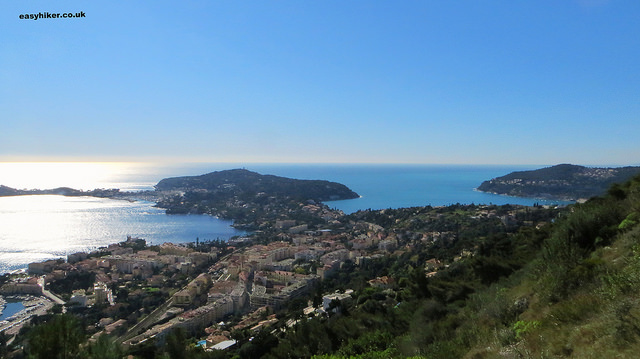 """Rade de Villefranche on the ultimate view of the French Riviera hike"""