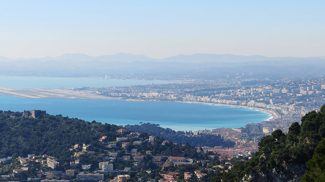 """Nice Baie des Anges on the ultimate view of the French Riviera hike"""