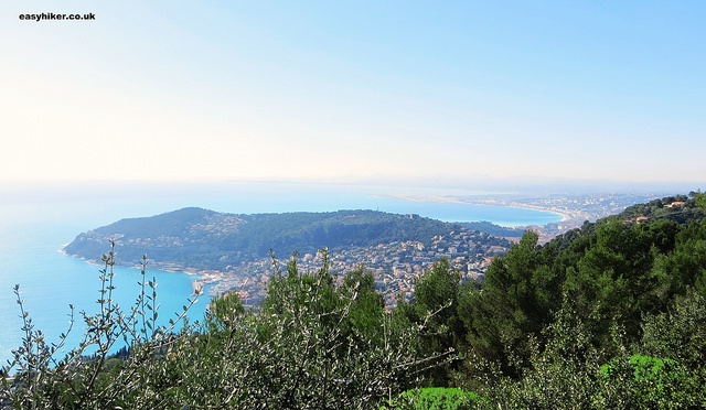"""A peek from Villefranche sur Mer to Nice on the ultimate view of the French Riviera hike"""