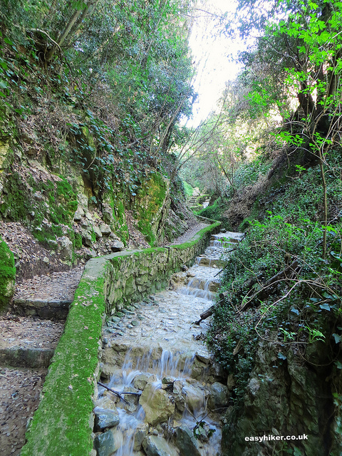 """Uphill walk to Little Africa trail - French Riviera hikes"""