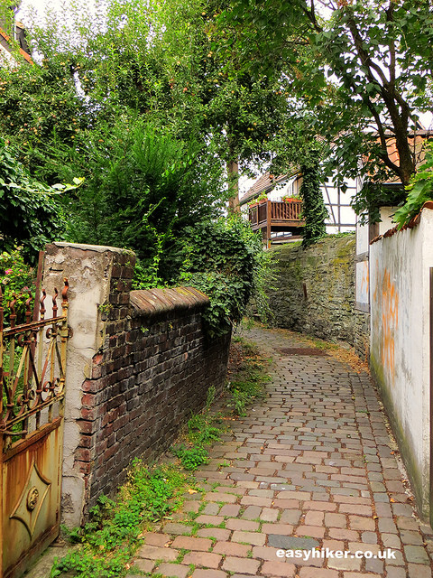 """an old alleway in Soest Germany"""