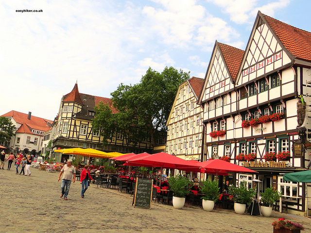 """Town centre of Soest - what to visit in Germany"""