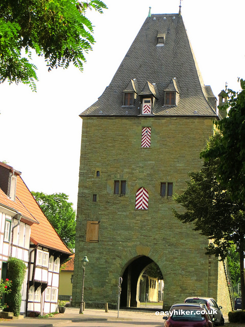 """remains of a fortification of the town of Soest - what to visit in Germany"""