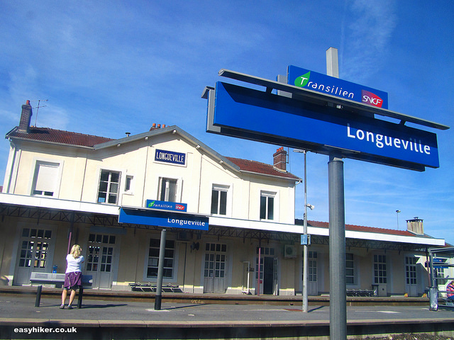 """""""discreet charm of trains stations like station Longueville France"""""""