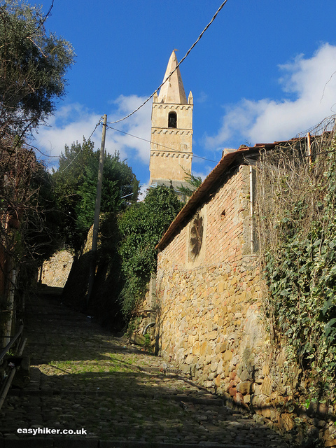 """A convent in Taggia - Tale of two towns """