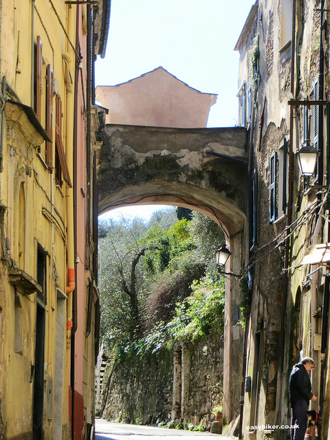 """old city portal of Taggia"""