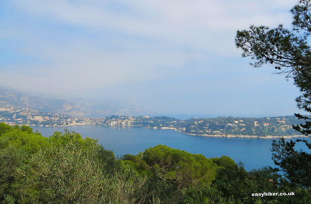"""""""View of Cap Ferrat from a French Riviera walk on Mont Boron"""""""