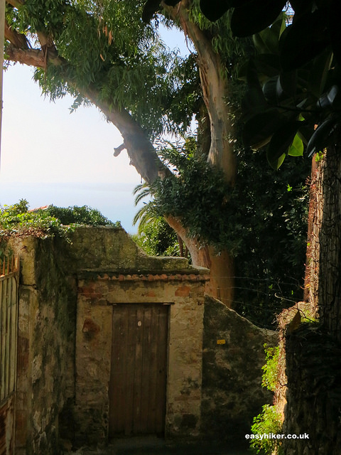 """View of the sea from a French Riviera walk on Mont Boron"""