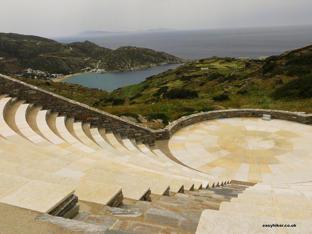 """ Odysseas Elytis Amphitheatre - one of the sights of Ios"""