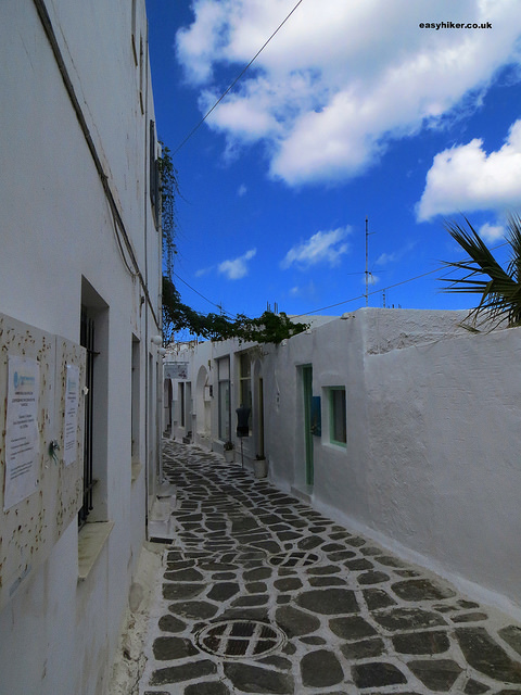 """small alley in Naoussa"""