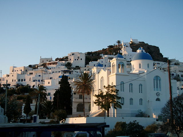 """Houses on the hills of Ios - exploring the Cyclades"""