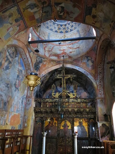 """""""inside a byzantine chapel in Noussa"""""""