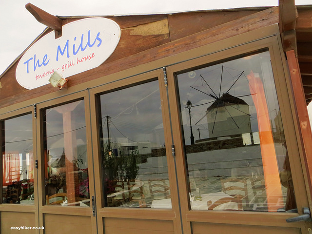 """Where to eat in Ios - The Mills restaurant"""