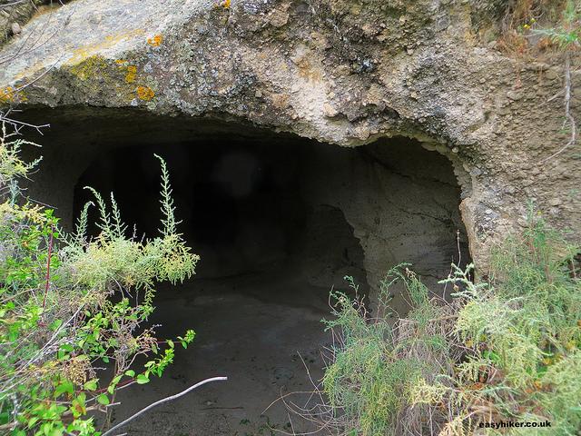 """""""Ancient catacomb along Venus of Milo walk"""""""