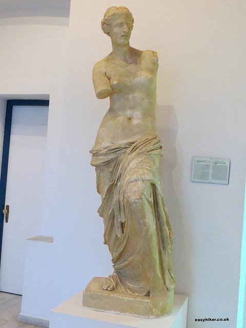 """Life-sized replica of Venus of Milo"""