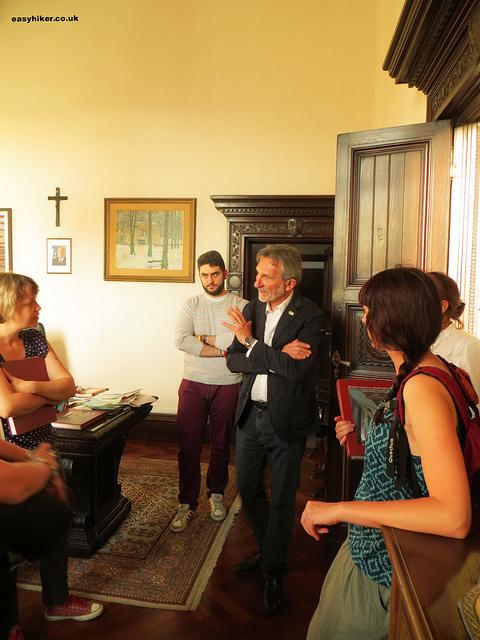 """Montecatini's Mayor Giuseppe Bellandi"""