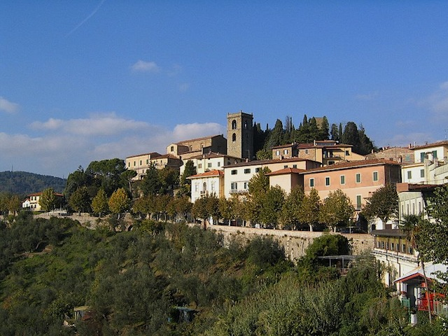 """Montecatini Terme - one of the cultural routes of Europe in Tuscany"""