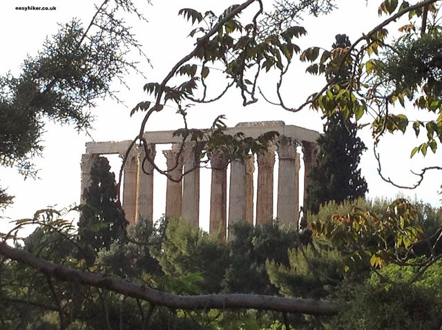 """Temple of the Olympian Zeus - wonder of the ancient world"""