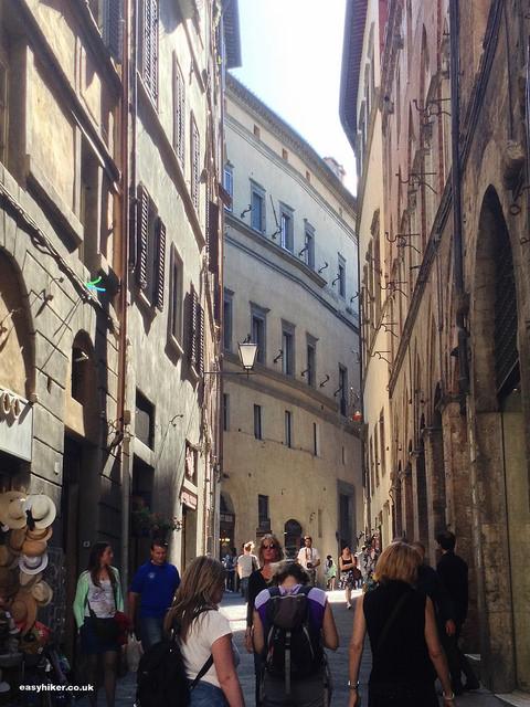 """""""a street in Siena"""""""