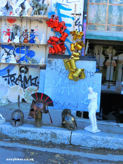 """a souvenir shop in Plaka, Athens"""