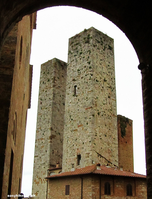 """Twin Towers of San Gimignano the New York of the Middle Ages"""