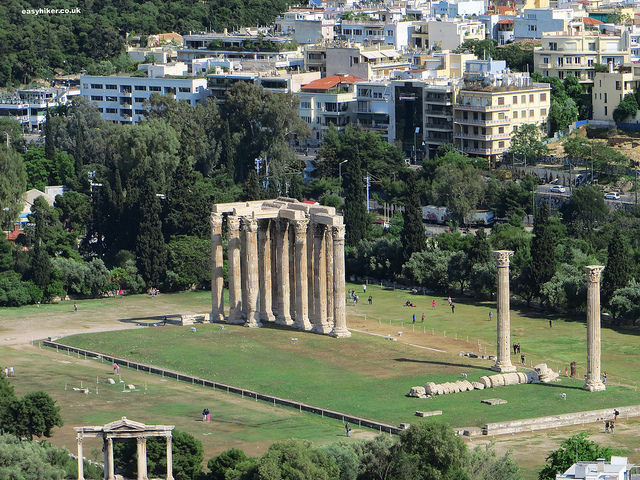 """one of the many ruins in Athens - the wonder of the ancient world"""