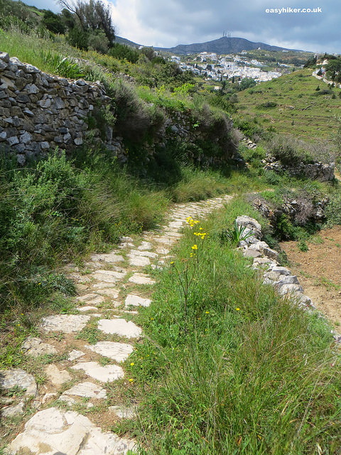 """Part of the Byzantine trail of Paros"""