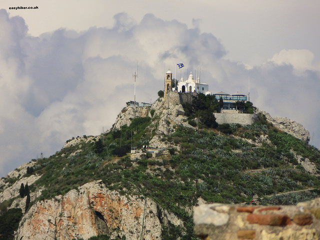 """Highest Mountain in Athens - Mount Lycabettus"""
